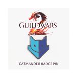 Guild Wars 2 Catmander Badge Pin
