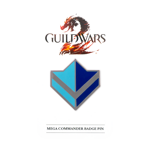Guild Wars 2 Mega Commander Badge Pin