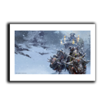 Winter's Journey Art Print