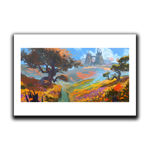 The Surroundings of Stronghold Art Print