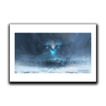Icebrood Saga Charge Art Print