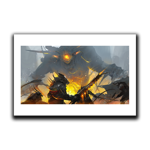 Steel and Fire Art Print