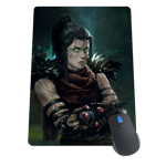 Necromancer Portrait Mousepad
