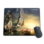Boats At Sunset Mousepad