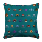 Roller Beetle Mount Pattern Pillow Case