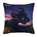 Giant Feline Familiar Pillow Case