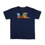 Quaggan and Choya Trick-Or-Treating! Youth Tee