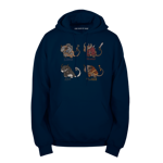 The Legions of the Charr: Fluffy Edition Pullover Hoodie
