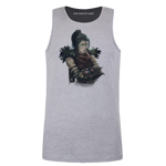 Necromancer Portrait Men's Tank Top
