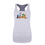 Quaggan and Choya Trick-Or-Treating! Women's Tank Top