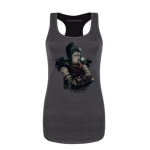 Necromancer Portrait Women's Tank Top