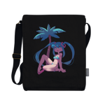 Beach Miku Vertical Messenger Bag