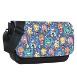 Star Magic Miku and Friends Sublimated Messenger Flap
