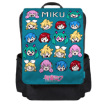 Miku Chibi Batch Backpack Flap