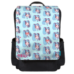 Miku Emojis Backpack Flap