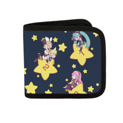 Shooting For the Stars Canvas Wallet