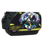 Cyberpunk Hatsune Miku Expo 2020 Europe Sublimated Messenger Flap