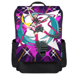 Dazzling Rock Star Backpack Flap