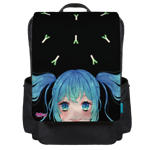 Miku and Leeks Backpack Flap