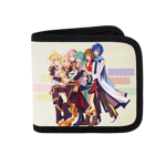 Piapro Family Hug Canvas Wallet