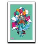 Balloon Party Art Print