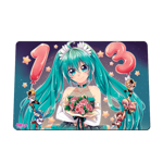 Flower Birthday Miku Mousepad