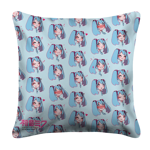 Miku Emojis White Pillow Case
