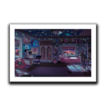Joey's Room Art Print