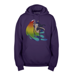 A Splash of Color Pullover Hoodie