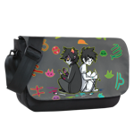 Fun With Paint Sublimated Messenger Flap