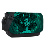 Seaweed Princess Sublimated Messenger Flap