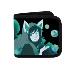 Space Girl Canvas Wallet