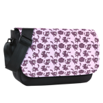 Mutie Pattern Sublimated Messenger Flap