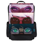 Godtier Eyes Backpack Flap