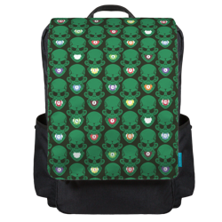 English Pattern Backpack Flap