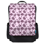 Mutie Pattern Backpack Flap