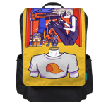 Selves Within Self Backpack Flap