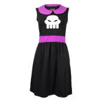 Homestuck Rose Lalonde Collar Dress
