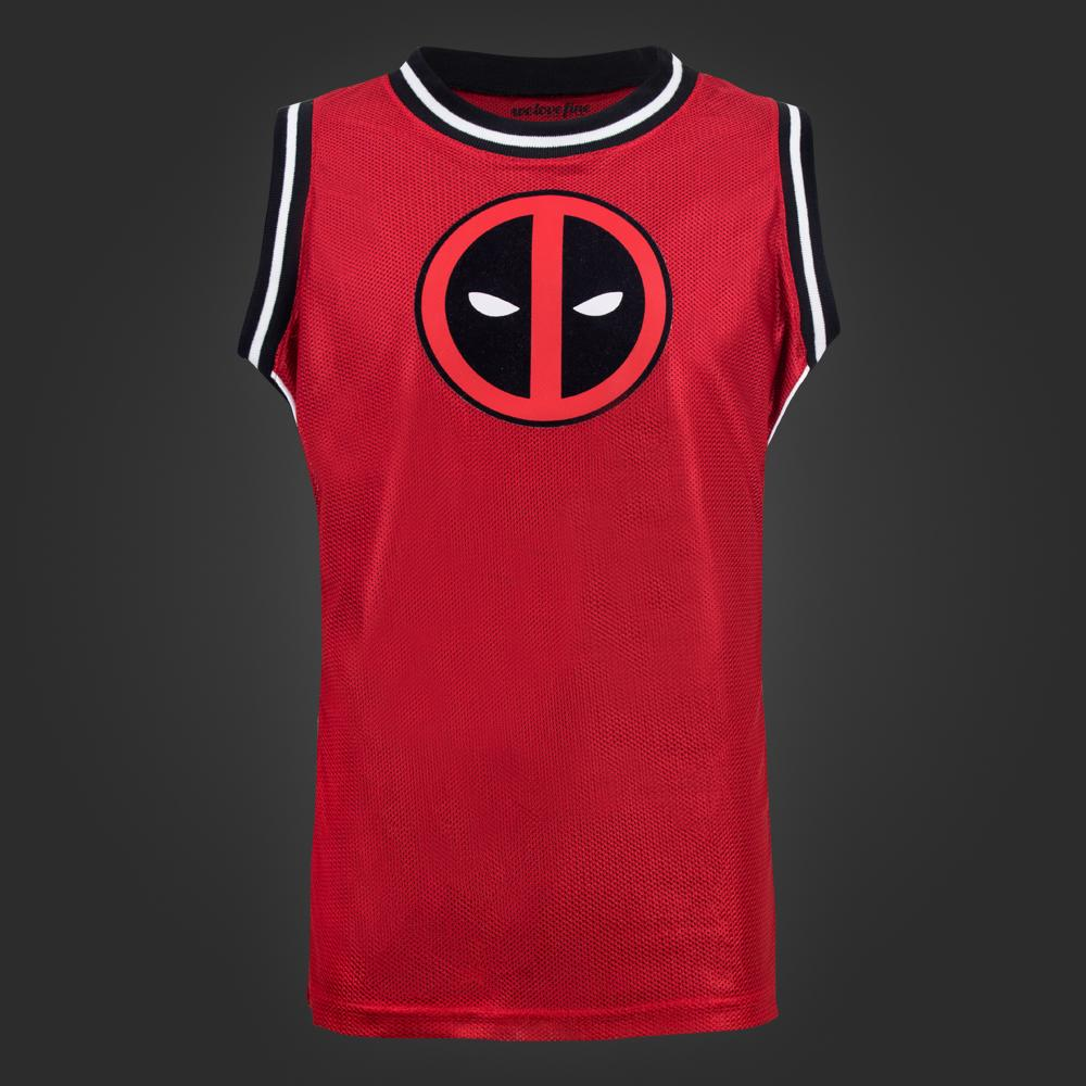 2a3d0db7e04 FOR FANS BY FANS Marvel Deadpool Mesh Jersey