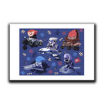 Mass Effect Minis Art Print