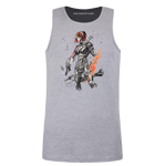 Sumi Style Commander Shepard Men's Tank Top