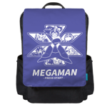 MEGAMAN GAME START! Backpack Flap