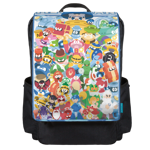 Mega (mixed) Man! Backpack Flap