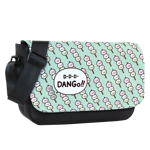 Dango Pattern Sublimated Messenger Flap