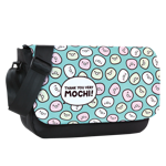 Mochi Pattern Sublimated Messenger Flap