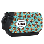 Takoyaki Pattern Sublimated Messenger Flap