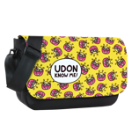 Udon Pattern Sublimated Messenger Flap