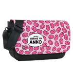 Anko Pattern Sublimated Messenger Flap