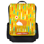 I Love Socks Backpack Flap
