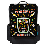 Powered by Noodles Backpack Flap